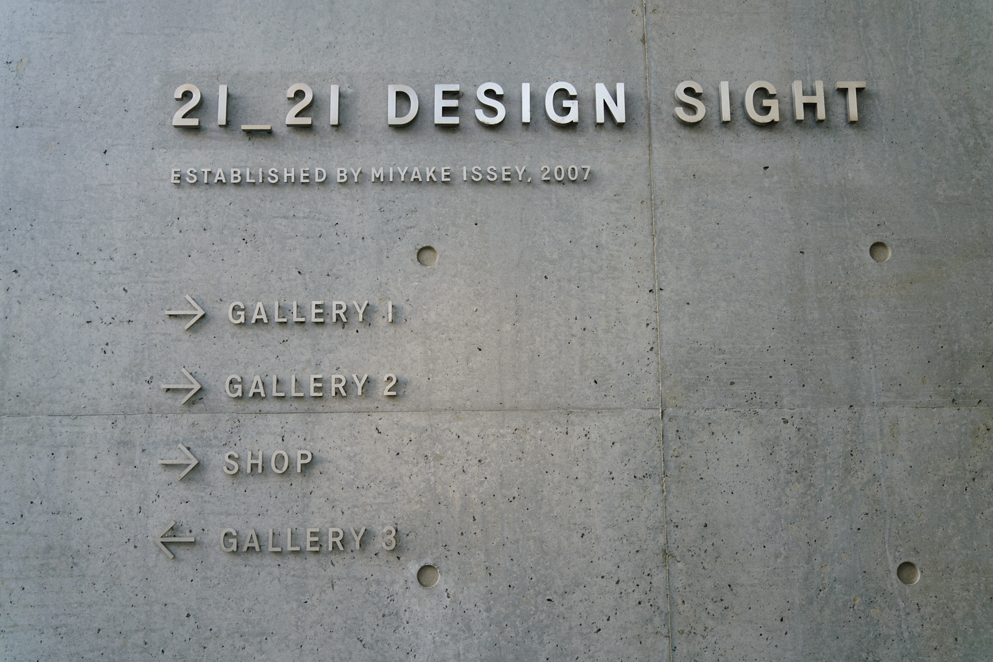 21_21 DESIGN SIGHT