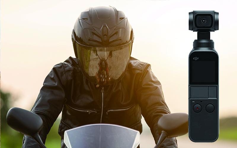 Osmo Pocket Pocket /  ヘルメットマウントで臨場感あふれる撮影を楽しむ!オススメ4選