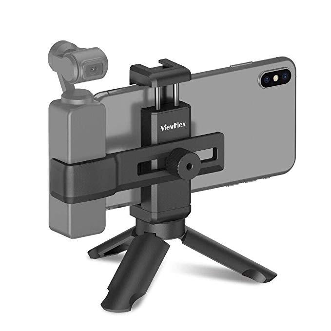 旅や自撮りで大活躍するOsmo Pocket + スマホ 合体ホルダー オススメ5選