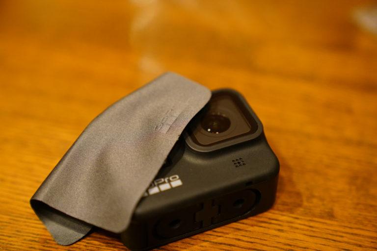 GoProレンズをしっかりと保護する強化ガラスフィルム