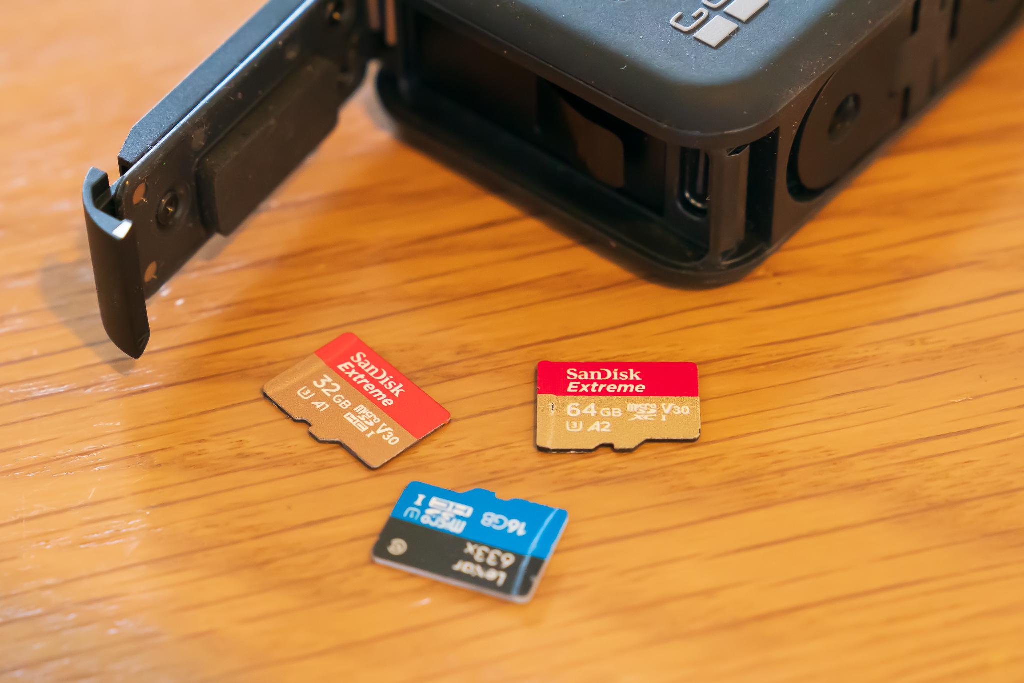 【完全理解】あなたのGoProに最適なmicro SDカードの容量は?選び方ガイド & オススメ4選