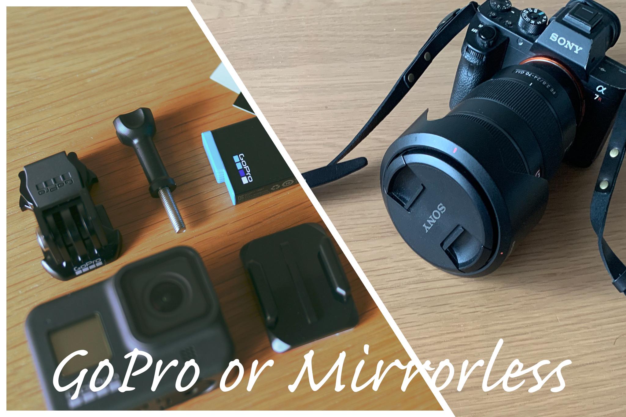 【徹底検証】GoPro VS デジタル一眼 旅行で使えるのはどっち?
