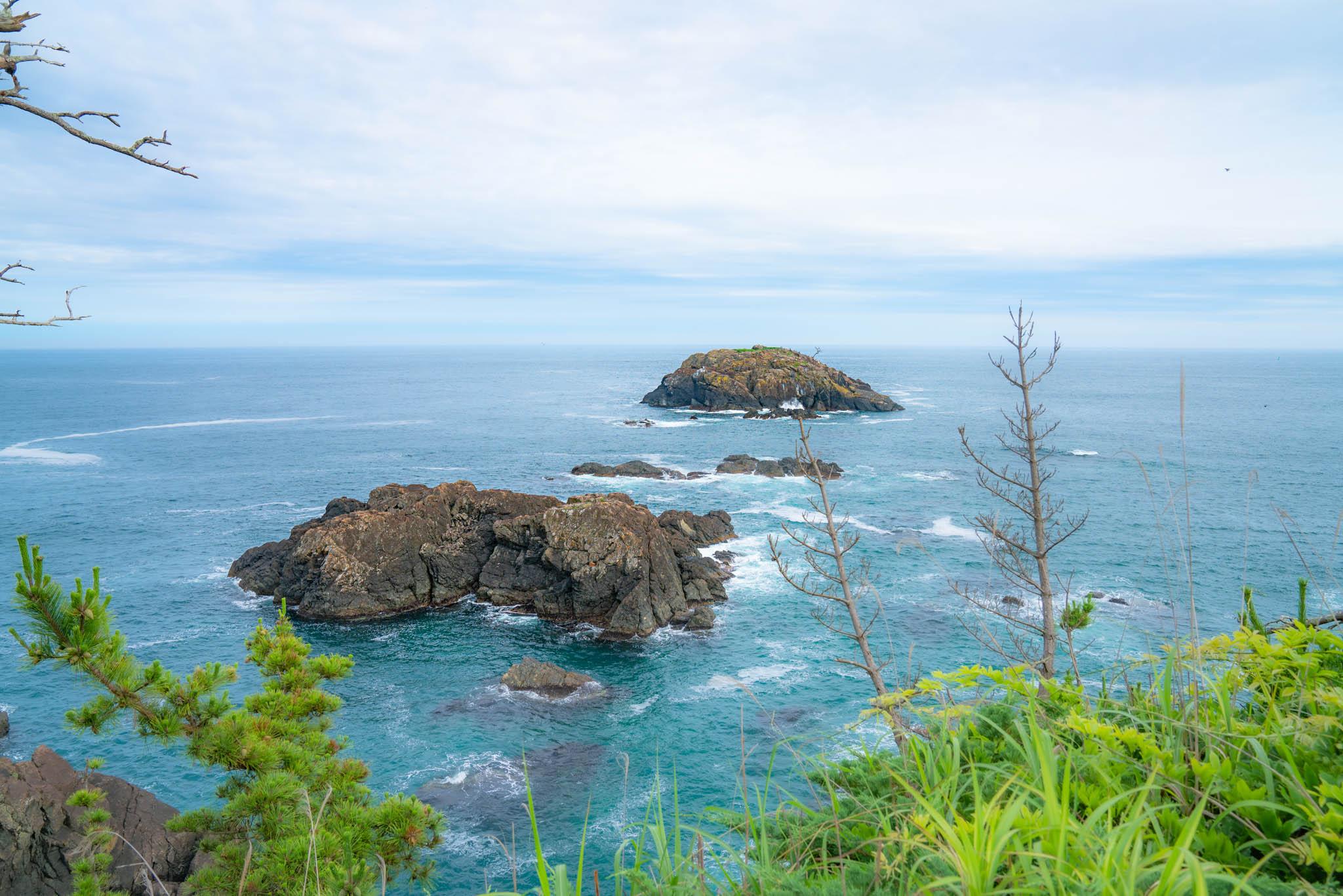 気仙沼 / Day2 / 国立公園『大島』を堪能 / 十八鳴浜と龍舞崎