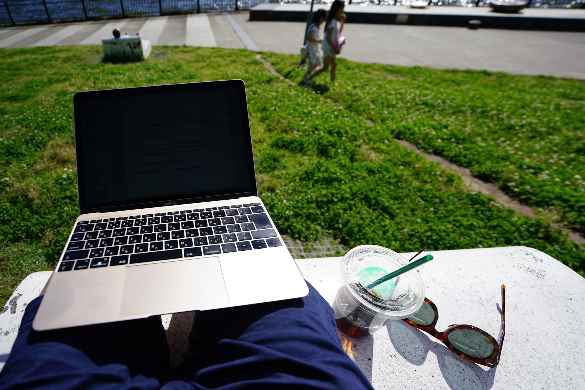 MacBook 12インチを超客観的にレビュー !作業レベル別に合わせて解説