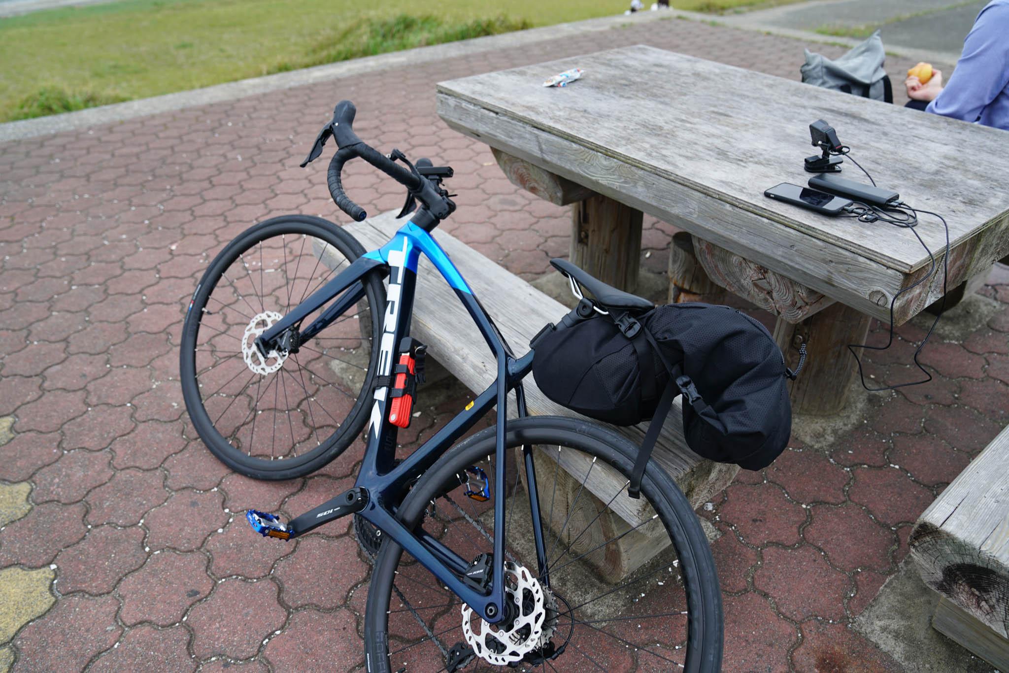 ロードバイク 東京 → 房総半島 / Day1 / 17:00に東京を発 → 21:00 木更津ホテルへ