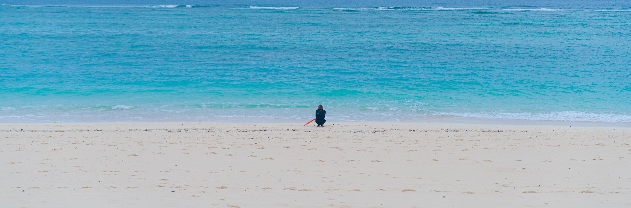 【沖縄】キャプテンカンガールで絶品ハンバーガーを堪能後、瀬底ビーチで遊ぶ / Day2
