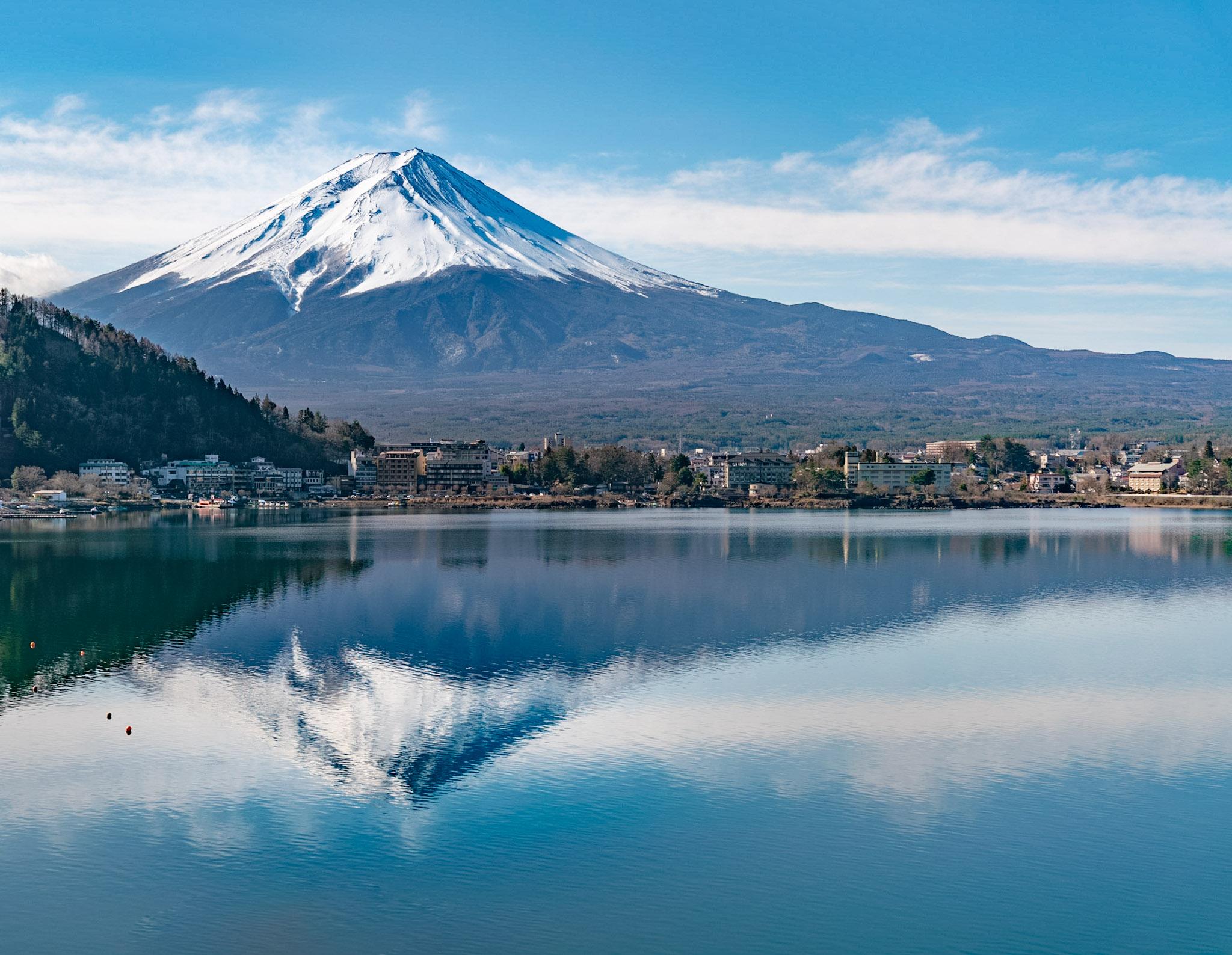 特急あずさで富士回遊へ / 風のテラス kukuna1泊2日の旅